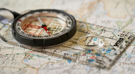 """Map and Compass"", by Jamie Dobson (Flickr)"