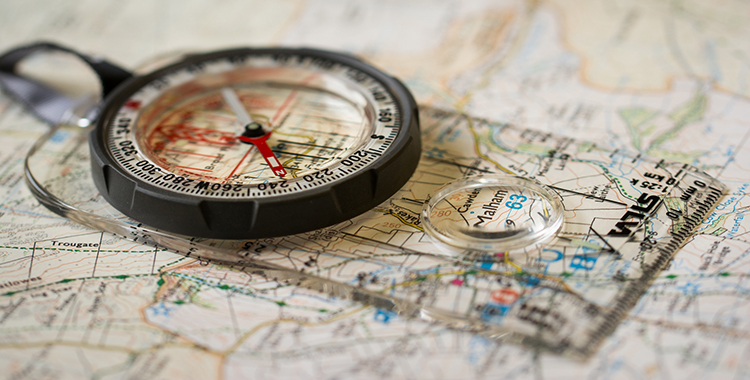 """""""Map and Compass"""", by Jamie Dobson (Flickr)"""